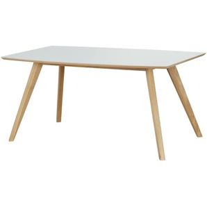 Woodford Esstisch  Bari ¦ weiß ¦ Maße (cm): B: 90 H: 75,6 Tische  Esstische  Esstische andere Formen » Höffner