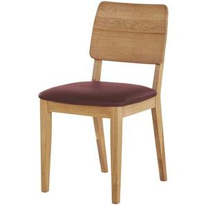 Woodford Massivholzstuhl  Marta ¦ holzfarben ¦ Maße (cm): B: 46 H: 85 T: 56 Stühle  Esszimmerstühle  Esszimmerstühle ohne Armlehnen » Höffner