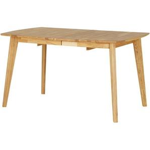 Woodford Massivholztisch ausziehbar  Mina ¦ holzfarben