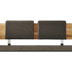Woodford Rückenkissen für Eckbank  Melia - braun - 50 cm - 33,5 cm - 8 cm   Möbel Kraft
