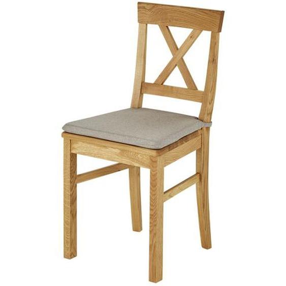 Woodford Sitzkissen  Lukas - blau - Stoff | Möbel Kraft