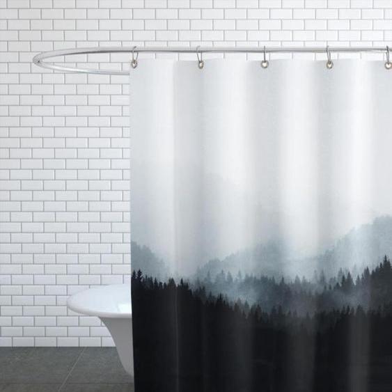Woods 5Y - Duschvorhang