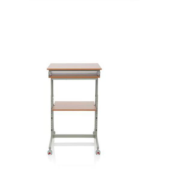 WORKSTATION - Schreibtisch Buche / Grau