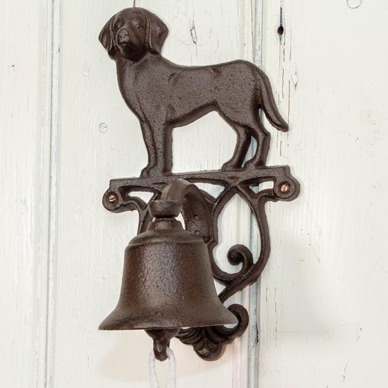 Wunderschöne Hundeglocke, Haustürglocke wie antik, im Landhausstil
