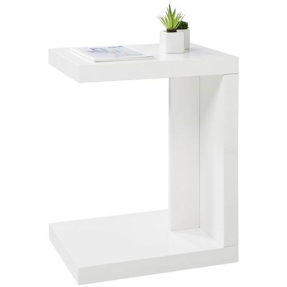 Xora Beistelltisch rechteckig Weiß , 40x50 cm