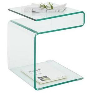 Boxxx: Beistelltisch, Transparent, B/H/T 40 48 40