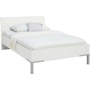 Xora: Bett, Weiß, B/H 120 200