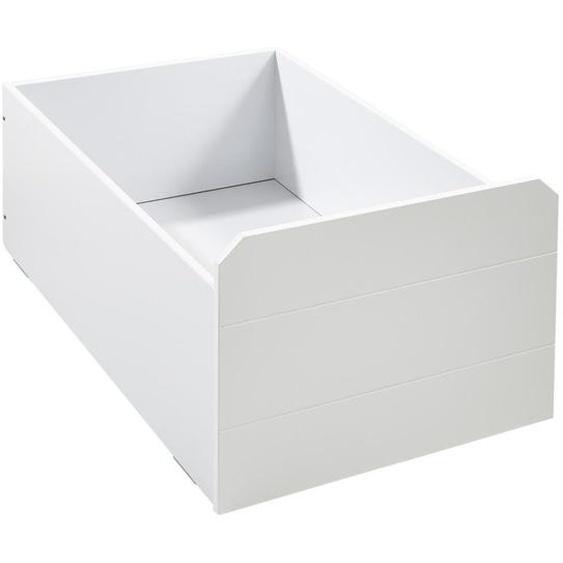 Xora Bettschubkasten Weiß , Kunststoff , 60x50.3x90 cm