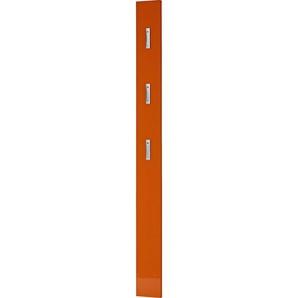 Xora Garderobenpaneel , Orange , 15x170x4 cm , Aufhängemöglichkeit , Garderobe, Garderobenpaneele