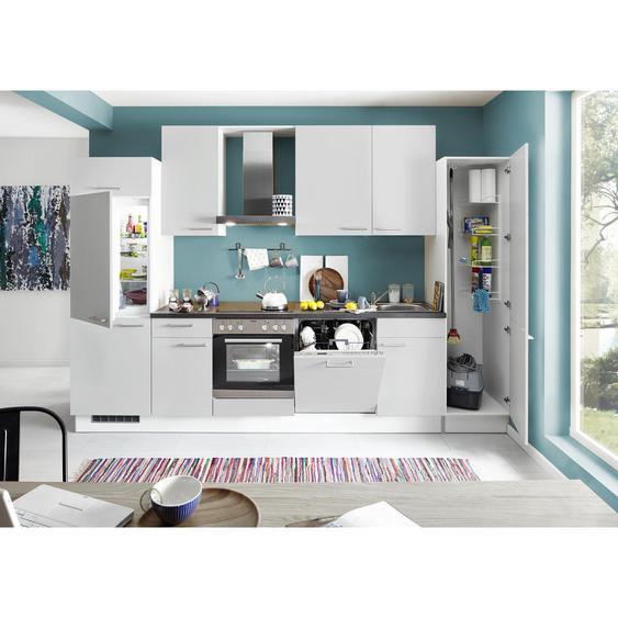 Xora Küchenblock E-Geräte, Spüle, Soft-Close-System , 1,1 Schubladen , 325 cm