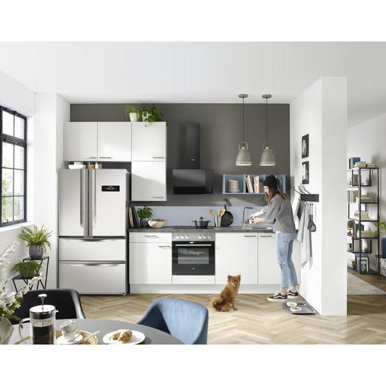 Xora Küchenleerblock Spüle, Soft-Close-System , Weiß , 1 Schubladen , 340 cm