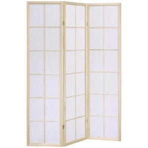 Xora: Raumteiler, Natur, Weiß, B/H/T 43,50 178,50 1