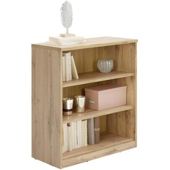 Xora Regal Braun , Holzwerkstoff , 2 Fächer , 72x84x36 cm
