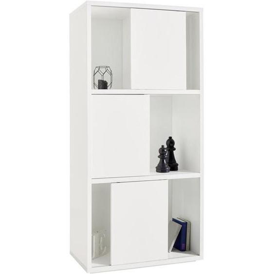 Xora Regal Weiß , 90.3x187.6x40 cm