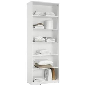 Xora: Regal, Holzwerkstoff, Weiß, B/H/T 72 194 36