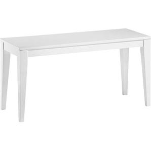 Xora: Sitzbank, Weiß, B/H/T 90 48 35