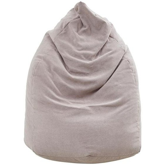 Xora Sitzsack Webstoff , Rosa , Textil , 220 L , 65x75x95 cm