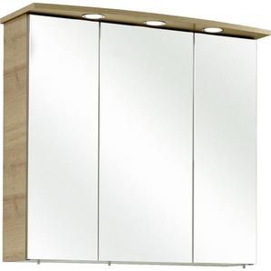 Xora: Spiegelschrank, Holzwerkstoff, B/H/T 75 70 20