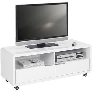 Xora: TV-Element, Weiß, B/H/T 120 46 45