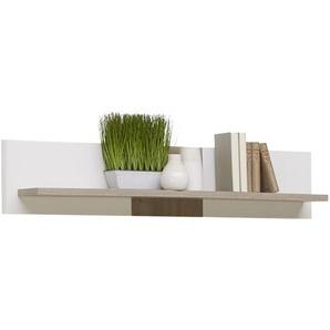 Xora: Wandboard, Weiß, Eiche, B/H/T 130 30 20