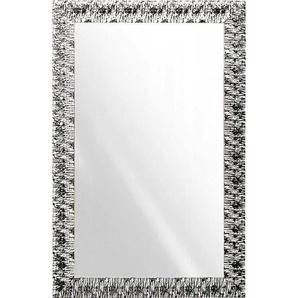 Xora Wandspiegel , Glas , Abachi , massiv , rechteckig , 70x110x2 cm , senkrecht und waagrecht montierbar , Schlafzimmer, Spiegel, Wandspiegel