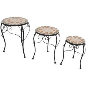 : Tischset, Natur, Schwarz, H 40