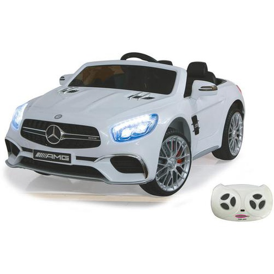 Kinderauto Jamara Mercedes-AMG SL 65 , Schwarz, Silber, Weiß , Kunststoff , 75x42 cm , Unisex , RoHS, Reach, Bsci, EN 71 , Babyspielzeug & Zubehör, Kinderspielzeug, Kinderautos