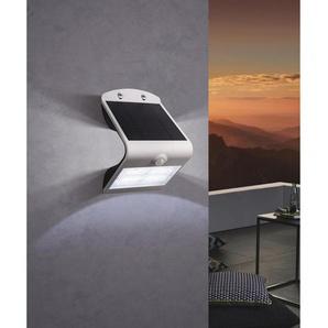 : Solarleuchte, Weiß, Transparent, B/H 14 21