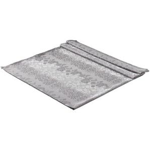 TISCHDECKE Textil Jacquard Graphitfarben 130/170 cm: TISCHDECKE Textil Jacquard Graphitfarben 130/170 cm