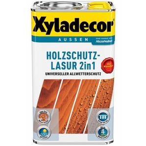 Xyladecor Holzschutz-Lasur 2in1 Ebenholz 2,5 l