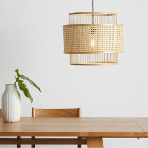 Yen grosser Lampenschirm, Bambus