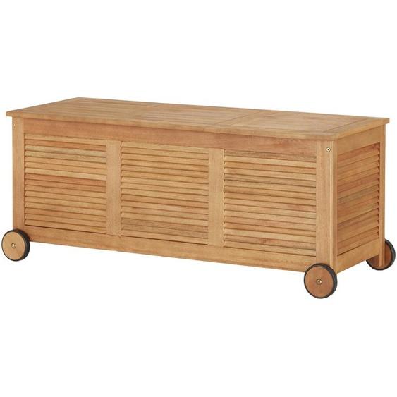 Yorkshire Kissenbox - holzfarben - Eukalyptus - 120 cm - 50 cm - 45 cm   Möbel Kraft