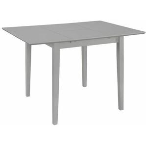 Ausziehbarer Esstisch Grau (80-120)x80x74 cm MDF - Youthup