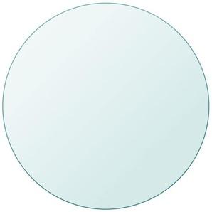 YOUTHUP Tischplatte aus gehärtetem Glas rund 300 mm