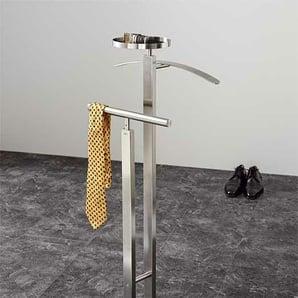 Zack Stummer Diener Atacio Silber, Designer Zack Design, 108x46.5x30 cm