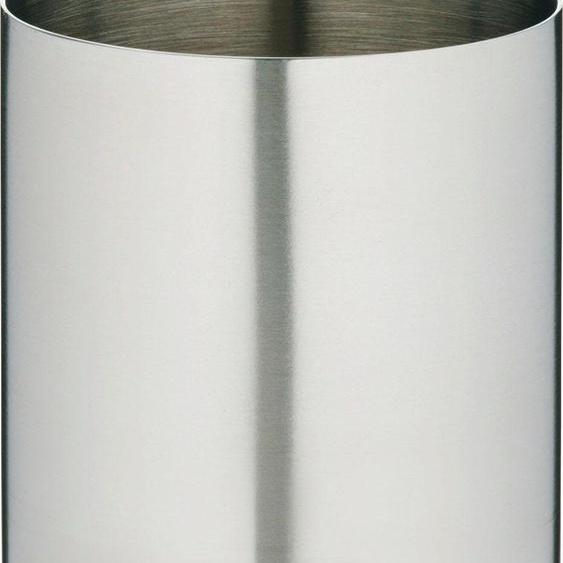 Zahnputzbecher »CLASSIC STEEL«, silber, Material Edelstahl, TOM TAILOR