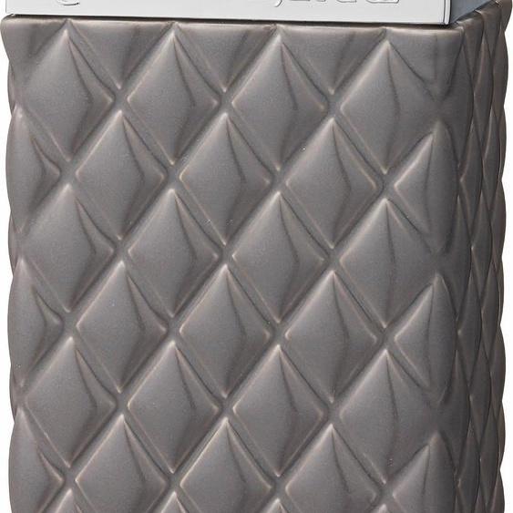 Zahnputzbecher, grau, Material Keramik / Zink, Lene Bjerre