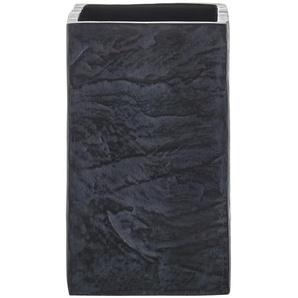 Zahnputzbecher  Slate Rock | grau | Polyresin (Kunstharz) | 6 cm | 10,5 cm | 6 cm |
