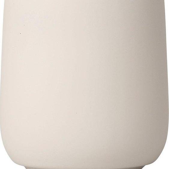 Zahnputzbecher »SONO«, beige, Material Keramik, blomus