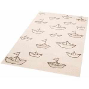 Zala Living Kinderteppich Paper Boat Sammy, rechteckig, 17 mm Höhe, Spielteppich, besonders weich durch Microfaser B/L: 120 cm x 170 cm, 1 St. beige Kinder Kinderteppiche mit Motiv Teppiche