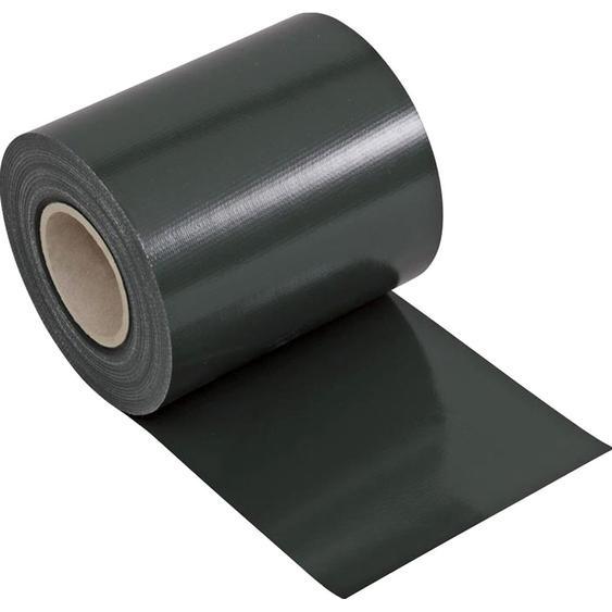 Zaunblende PVC blickdicht 19 cm x 3500 cm Anthrazit