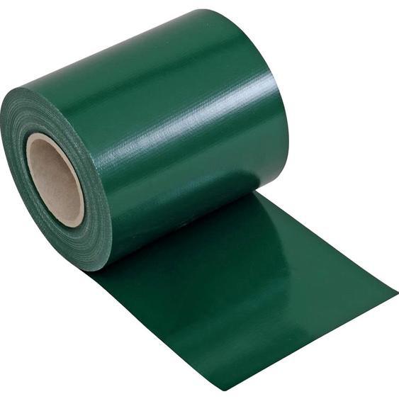 Zaunblende PVC blickdicht 19 cm x 3500 cm Grün