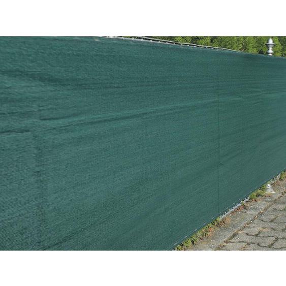 Zaunblende Winddurchlässig 1,2 m x 5 m Grün