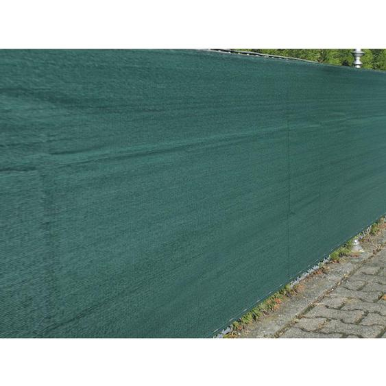 Zaunblende Winddurchlässig 1,8 x 50 m Grün