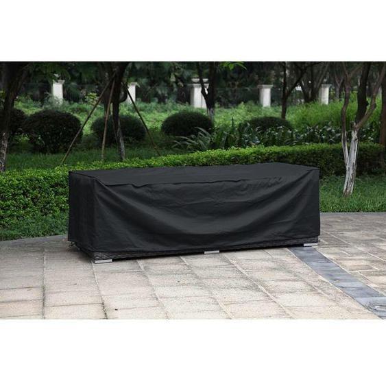 Zebra Fly Schutzhülle für 3-Sitzer PVC Outdoorgewebe Schwarz