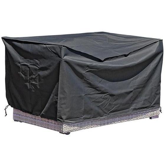 Zebra Jack Lounge Junior Schutzhülle 150x85x73 cm Schwarz