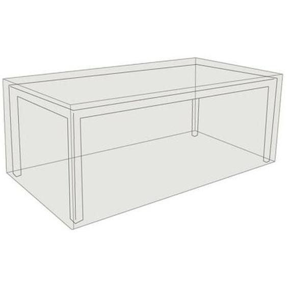 Zebra Schutzhülle für Tischplatte bis 220x100cm Grau Hellgrau