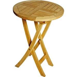 Zebra Süd: Tisch, Teakholz, Teak, H 74