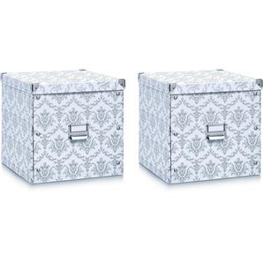 Zeller Aufbewahrungsbox (2er Set)