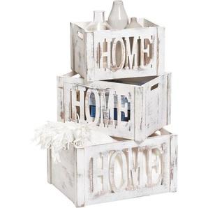 Zeller Present Aufbewahrungsbox »Home«